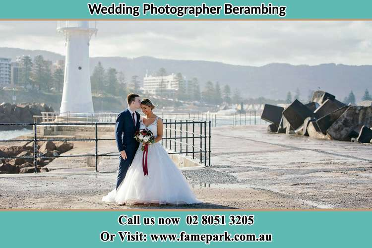 Photo of the Bride and Groom at the Watch Tower Berambing NSW 2758