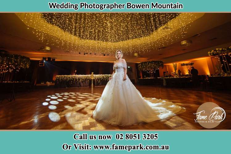 Photo of the Bride at the dancing floor Bowen Mountain NSW 2753